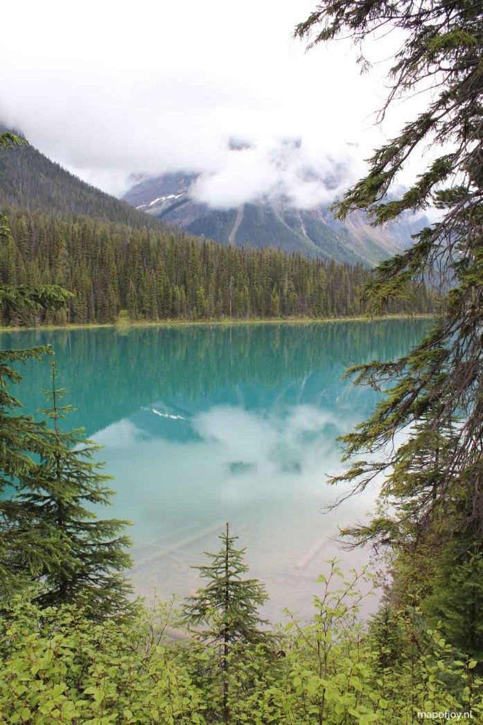 Emerald Lake, Yoho NP, Canada - Map of Joy