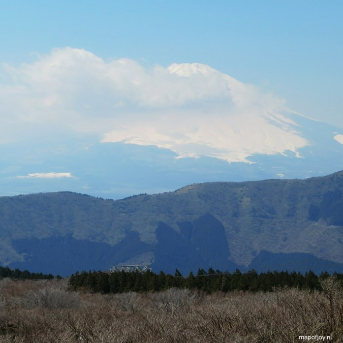 Mount Fuji, Hakone, Japan - Map of Joy