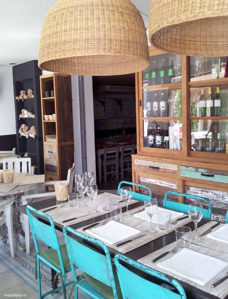 La Sardina Loca, food hot spot Ibiza - Map of Joy