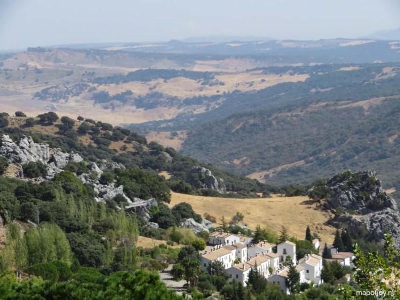 Grazalema, Andalusia, Spain - Map of Joy