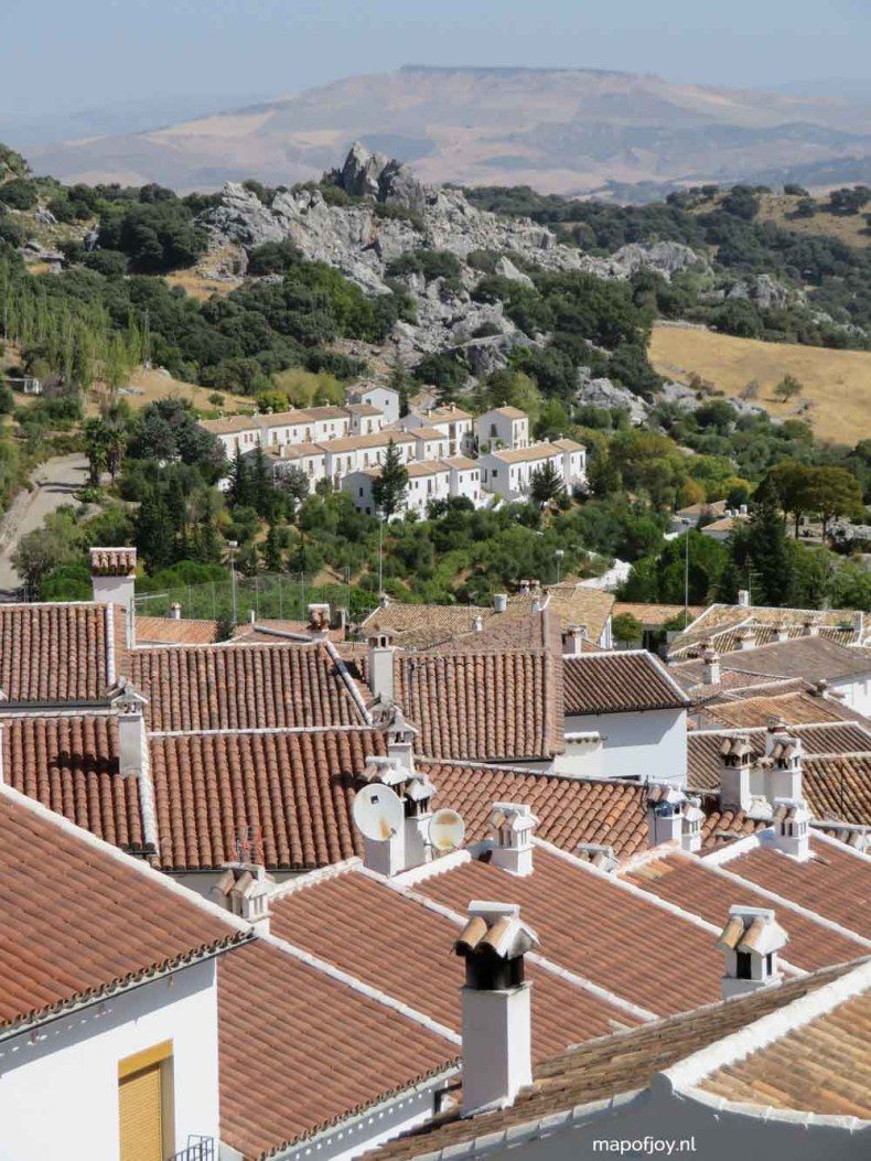 Grazalema, Andalusia, Spain - Map of Joy