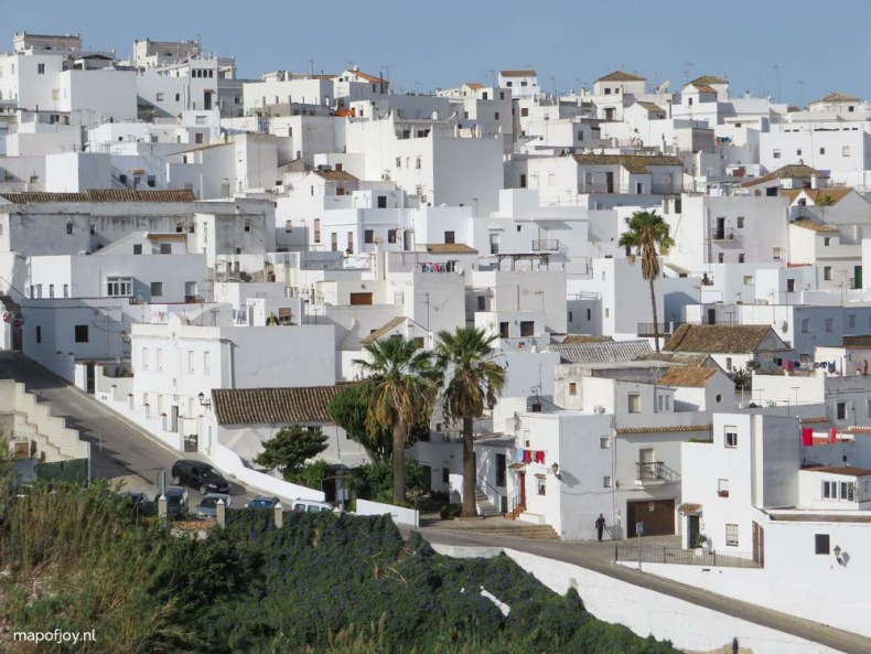 Vejer de la Frontera, Andalusie, Spanje - Map of Joy