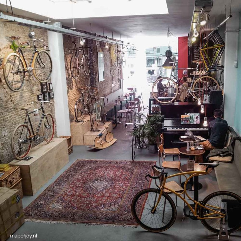 Lola Bikes and Coffee, Den Haag - Map of Joy
