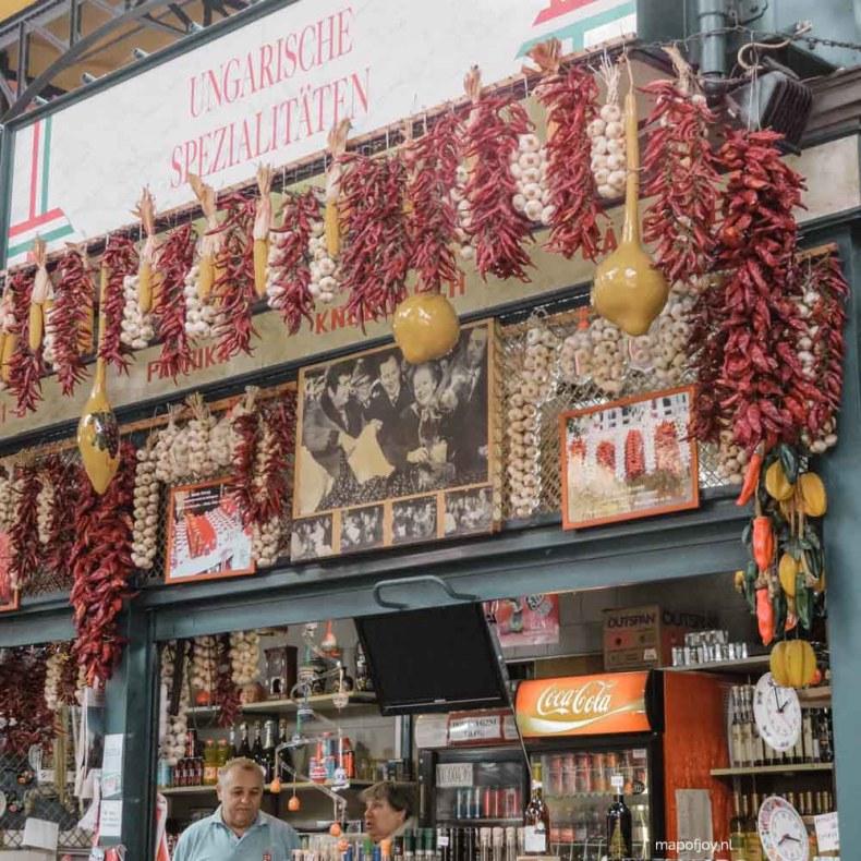 Nagycsarnok (Grote Markthal), Boedapest - Map of Joy