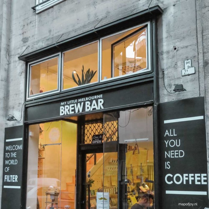 My Little Melbourne Coffee and Brew Bar, Budapest - Map of Joy