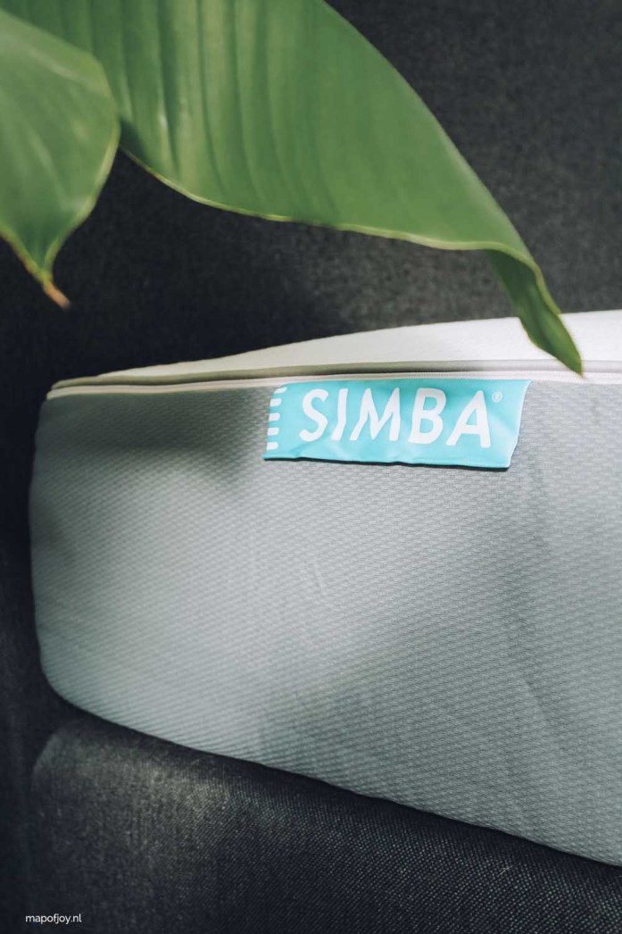 Simba matras review - Map of Joy