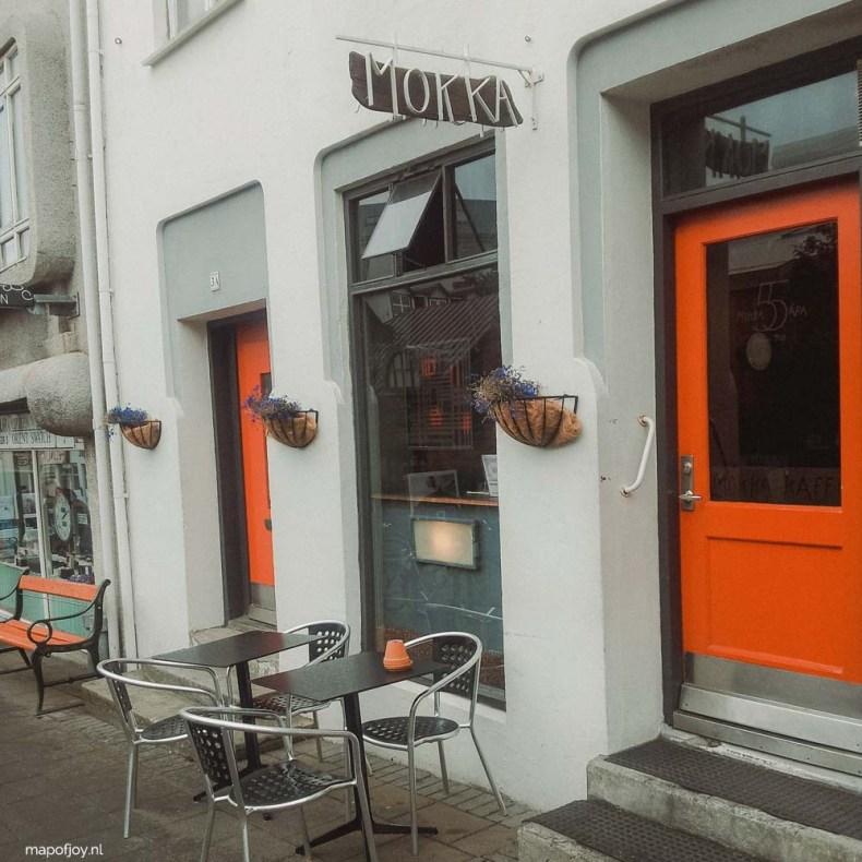 Mokka Kaffi, coffee hotspot Reykjavik - Map of Joy