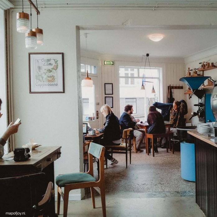 Reykjavik Roasters, coffee hotspot Reykjavik - Map of Joy