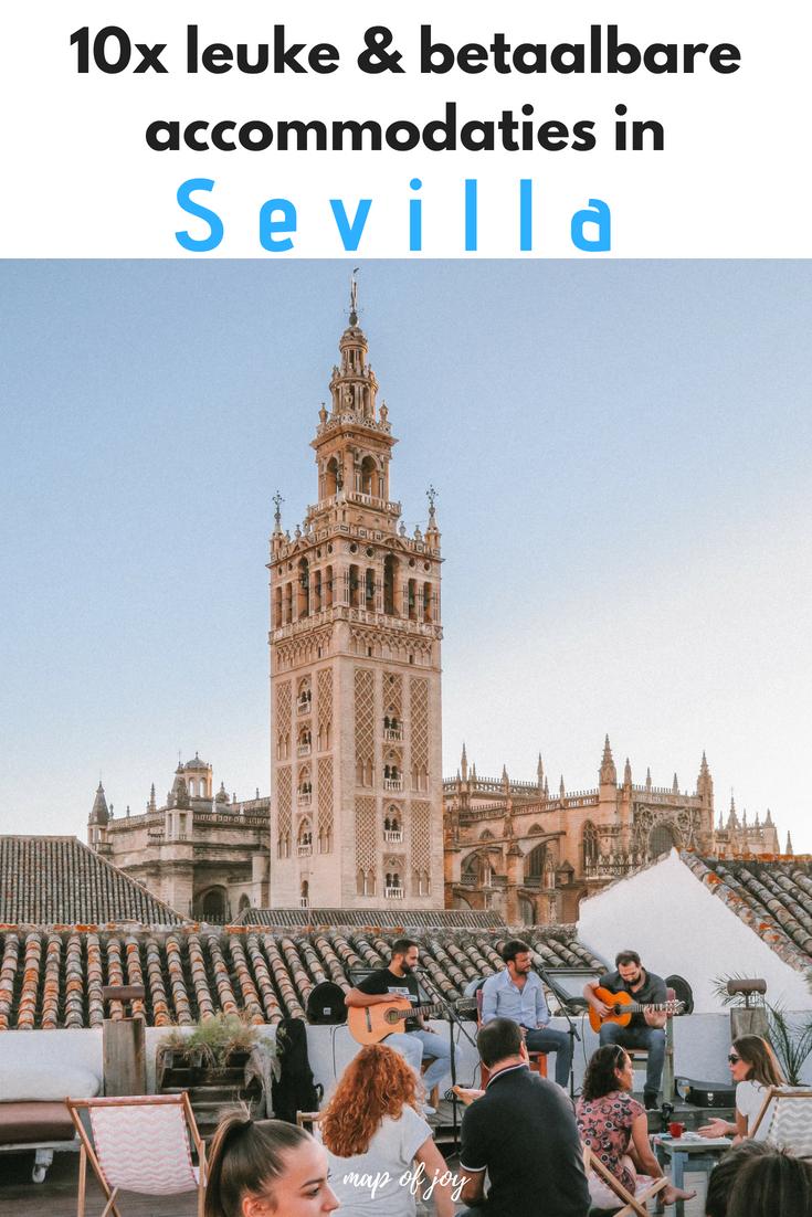 10x leuke en betaalbare accommodaties in Sevilla - Map of Joy