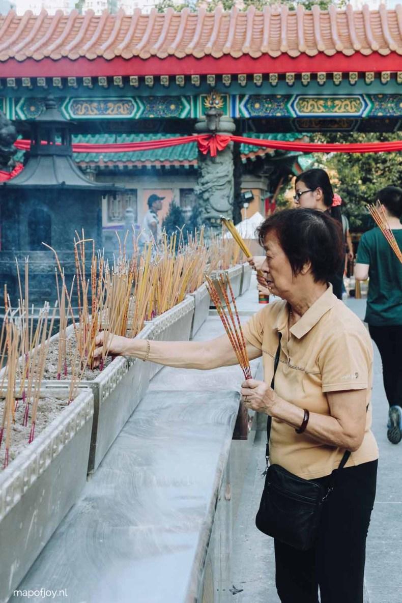 Wong Tai Sin Temple Hong Kong - Map of Joy