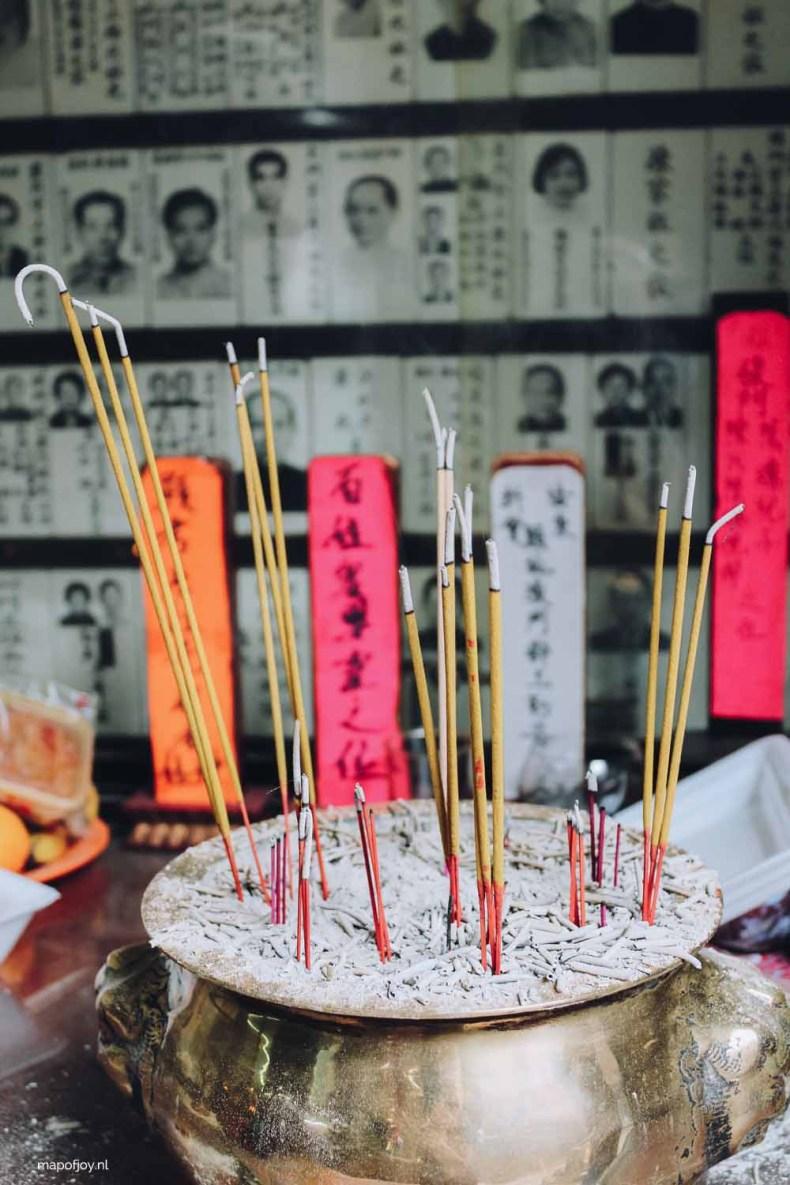 Man Mo Temple Hong Kong - Map of Joy