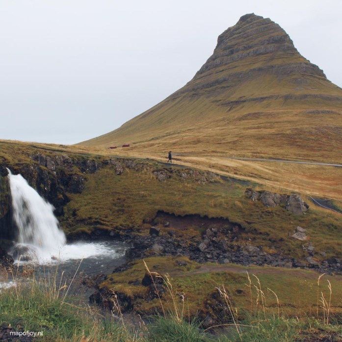 Kirkjufell, Iceland, Snaefellsnes - Map of Joy