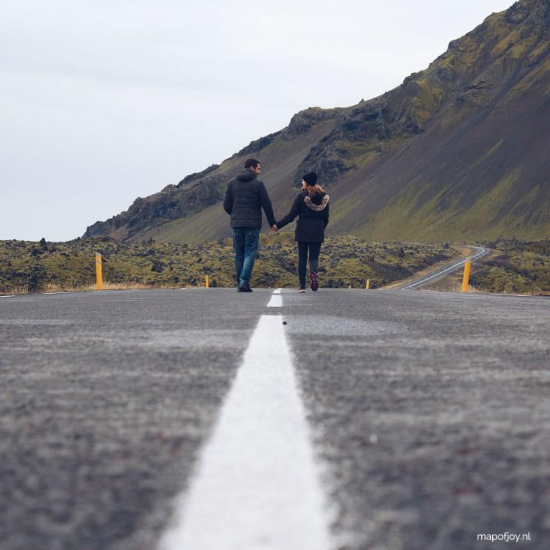 Road trip Snaefellsnes, Iceland - Map of Joy