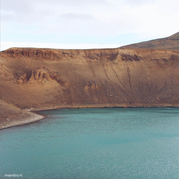 Viti Crater, Iceland - Map of Joy