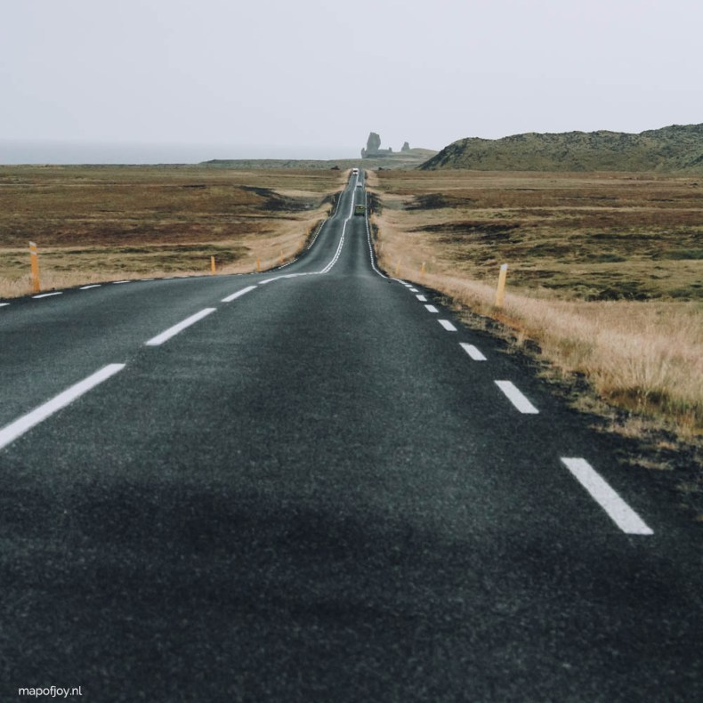 Roadtrip Snaefellsnes NP, IJsland - Map of Joy