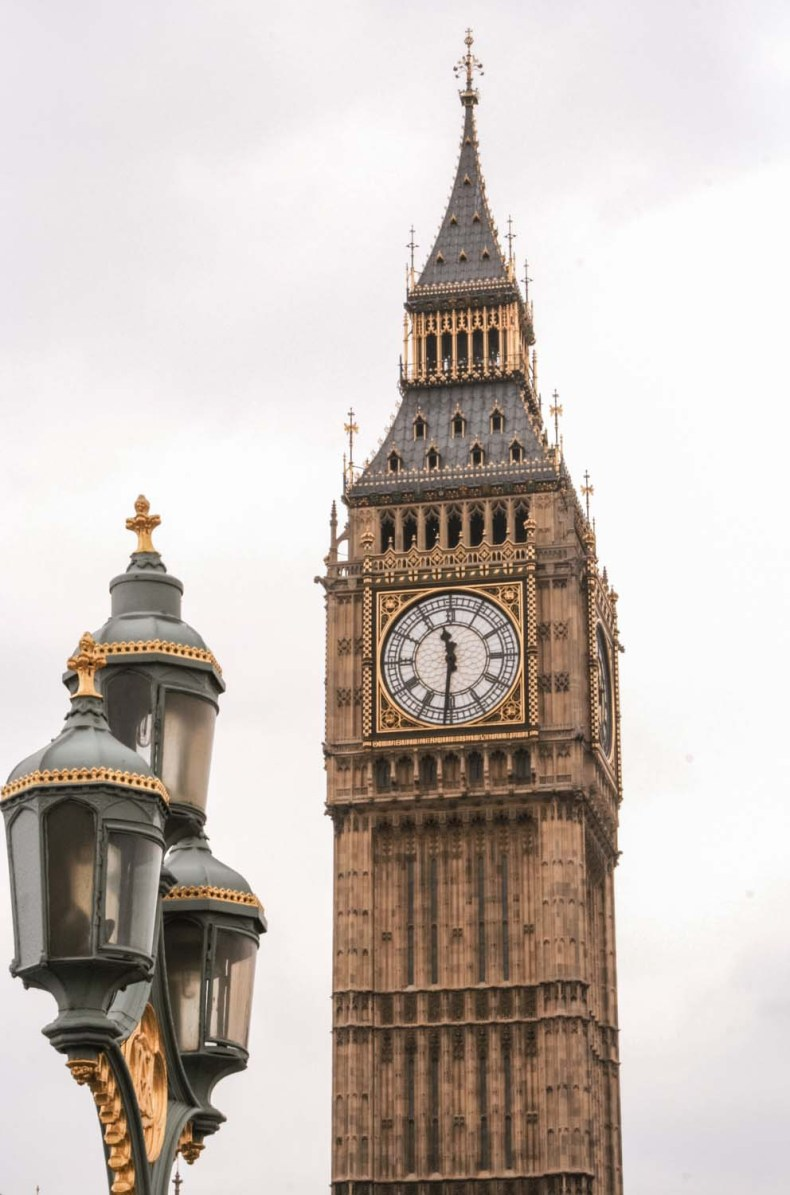 Big Ben, London - Map of Joy
