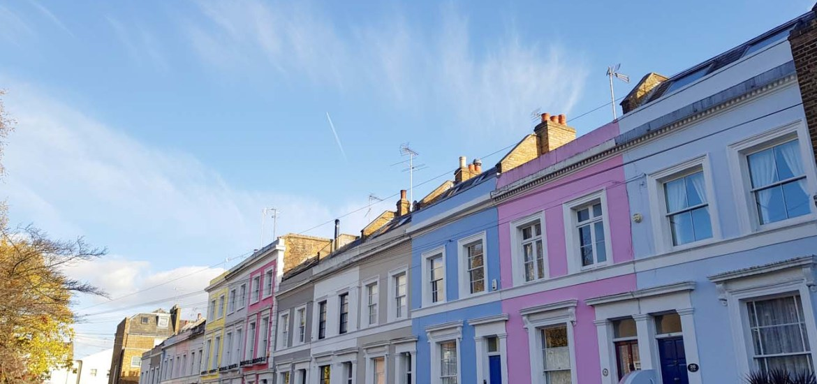 Notting Hill, Londen - Map of Joy