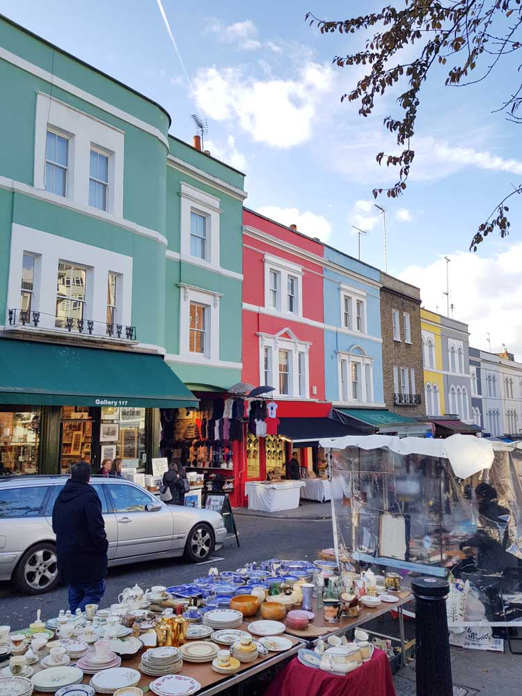 Notting Hill, Portobello Road Market, London - Map of Joy