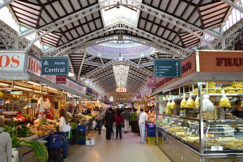 Mercado Central Valencia - Map of Joy