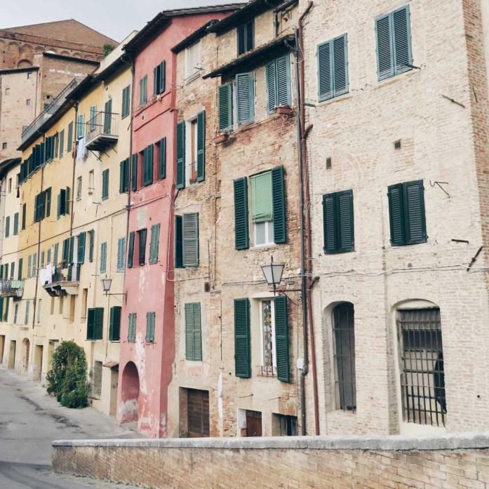 Siena, Toscane, Italië - Map of Joy