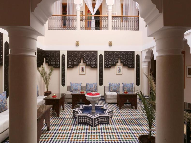 Riad Zaki, Marrakech, leuke, goedkope accommodatie - Map of Joy