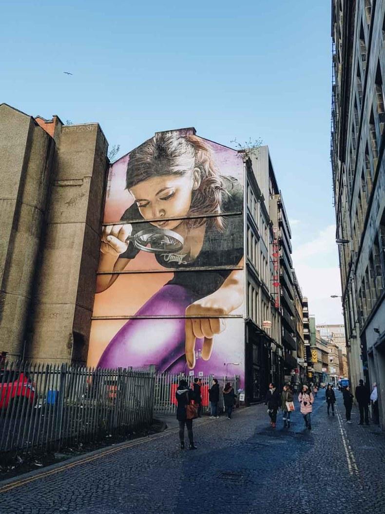 Honey I Shrunk The Kids, Mitchell Street, Glasgow - Map of Joy