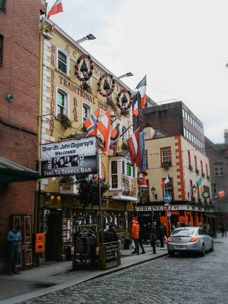 Temple Bar, Dublin - Map of Joy