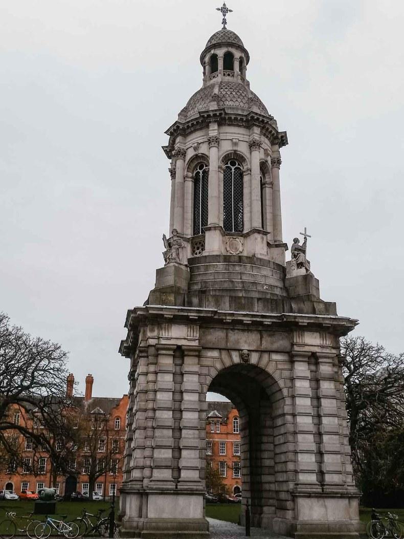 Trinity College, Dublin - Map of Joy