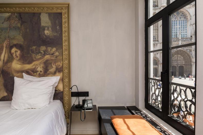 HotelO Kathedral, leuke betaalbaar hotel Antwerpen - Map of Joy
