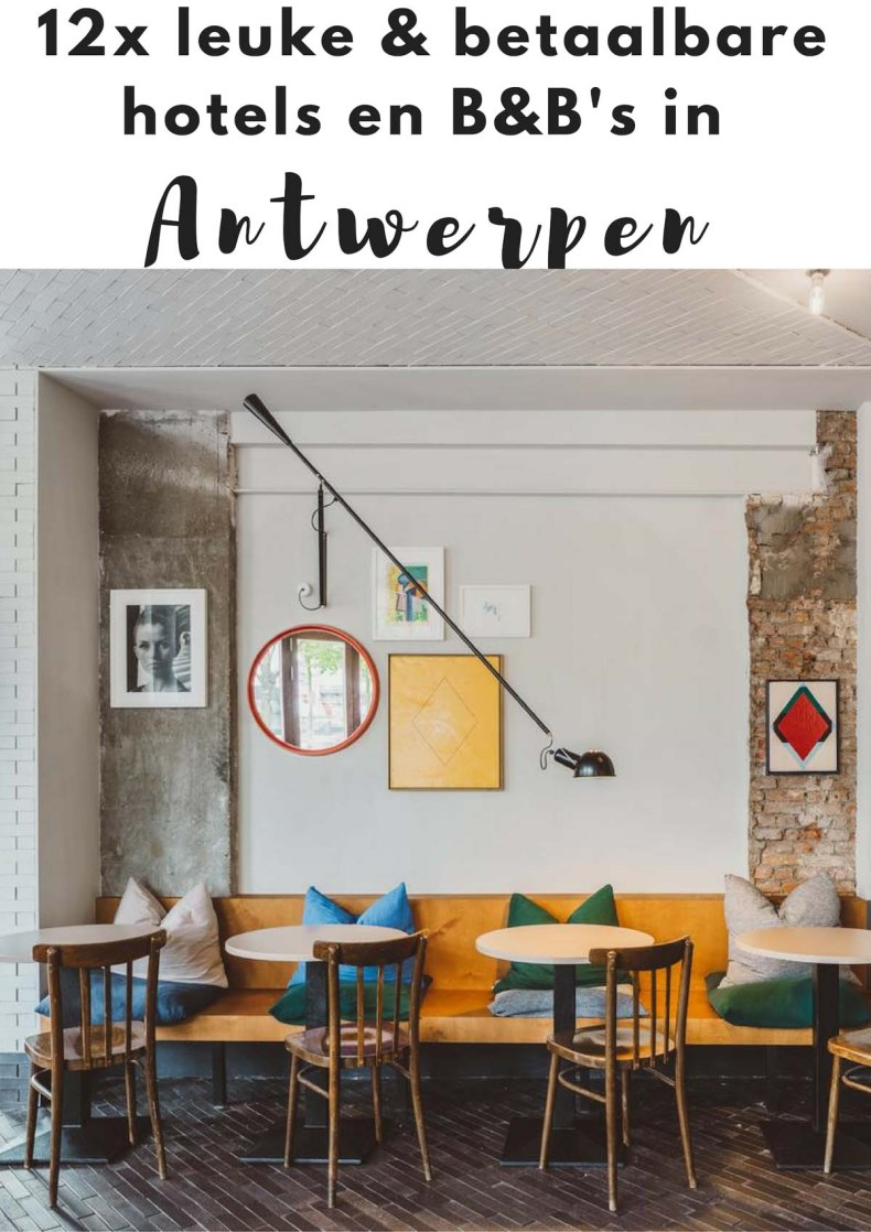 Leuke, betaalbare hotels en B&B's in Antwerpen - Map of Joy