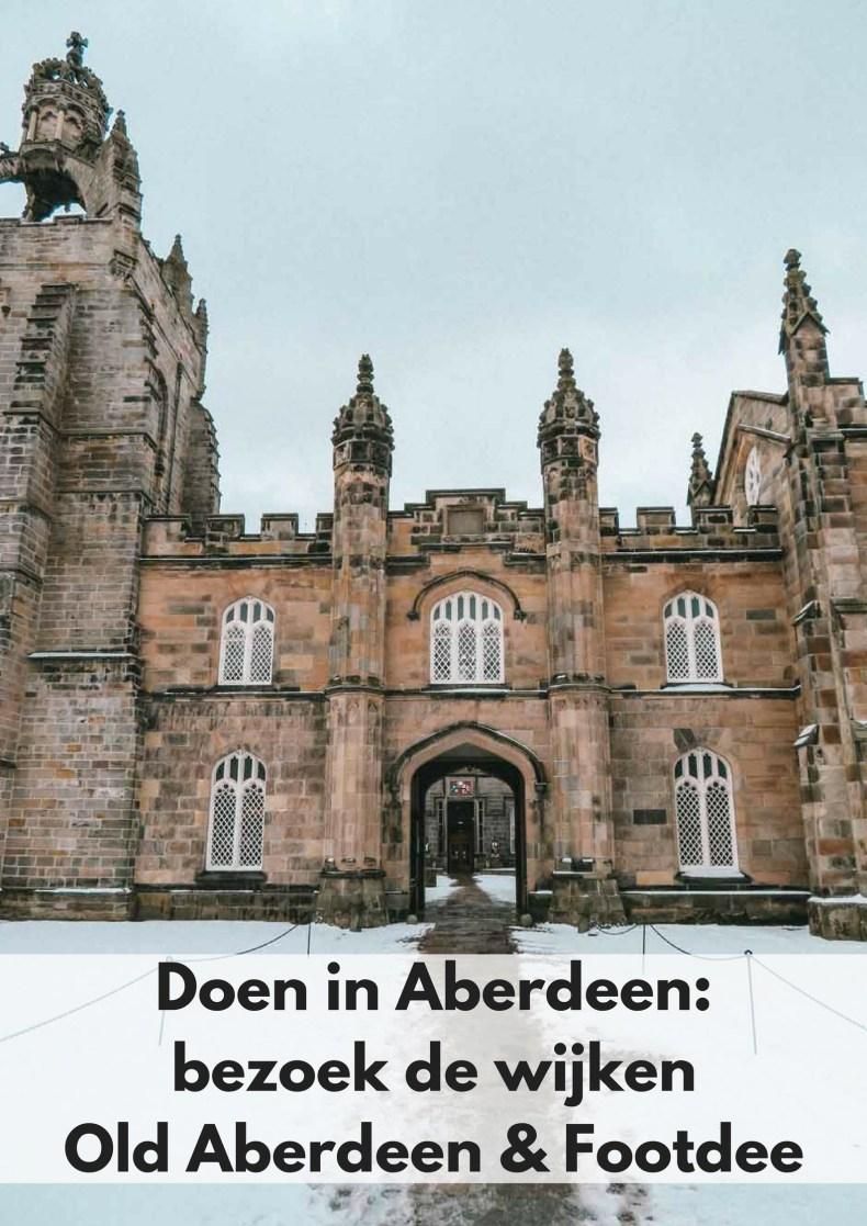 Doen in Aberdeen: bezoek Old Aberdeen en Footdee - Map of Joy