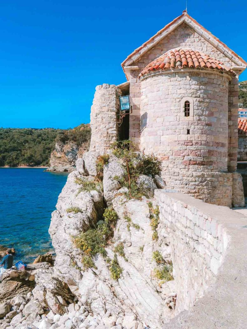 bezienswaardigheden Budva Montenegro - Map of Joy