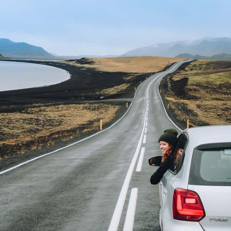 Roadtrip IJsland, rijden naar Krýsuvík-Seltun - Map of Joy