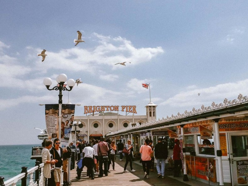 Brighton Pier, leuke dingen doen in Brighton - Map of Joy