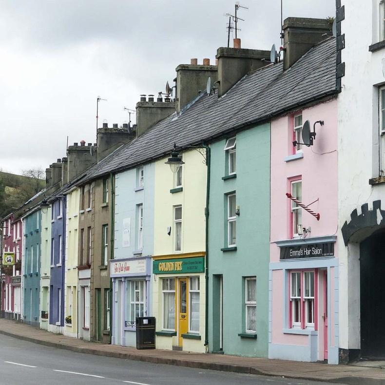 Het dorpje Cushendall, Noord-Ierland - Map of Joy