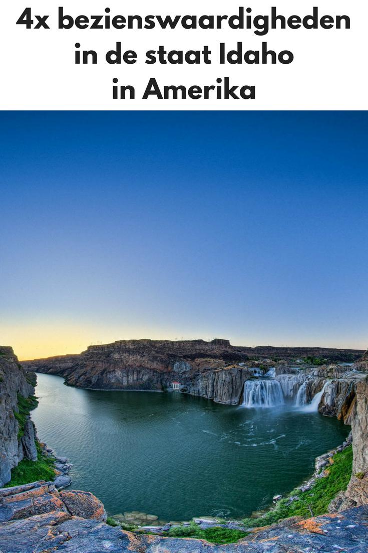 4x bezienswaardigheden in de staat Idaho in Amerika - Map of Joy