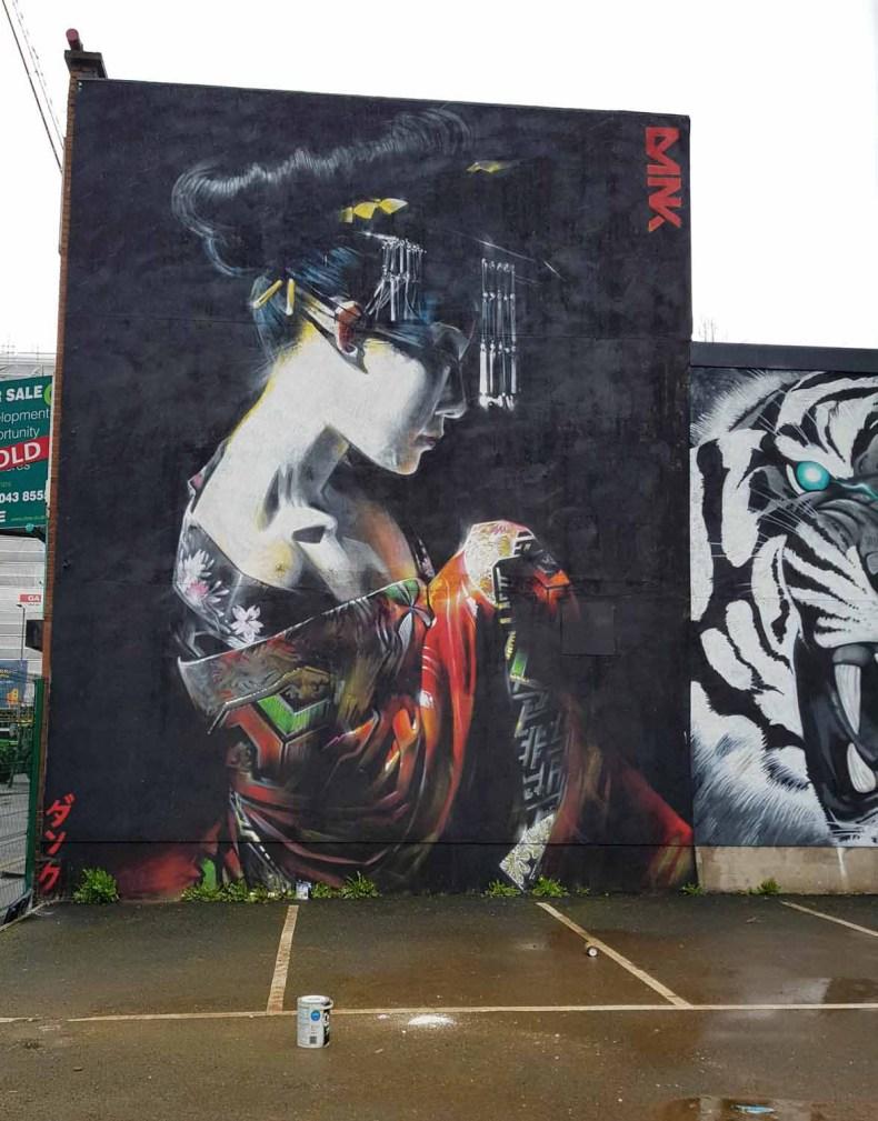 Street art, 12x gratis bijzondere dingen doen in Belfast - Map of Joy