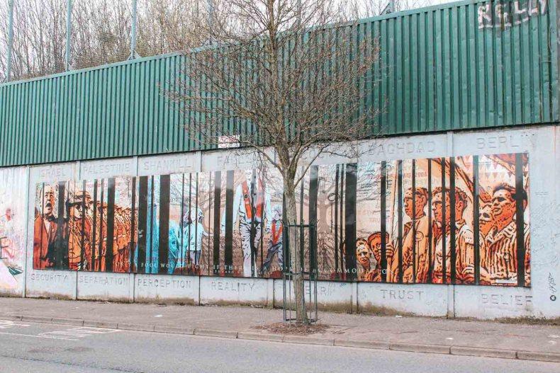 Peacewall, 12x gratis bijzondere dingen doen in Belfast