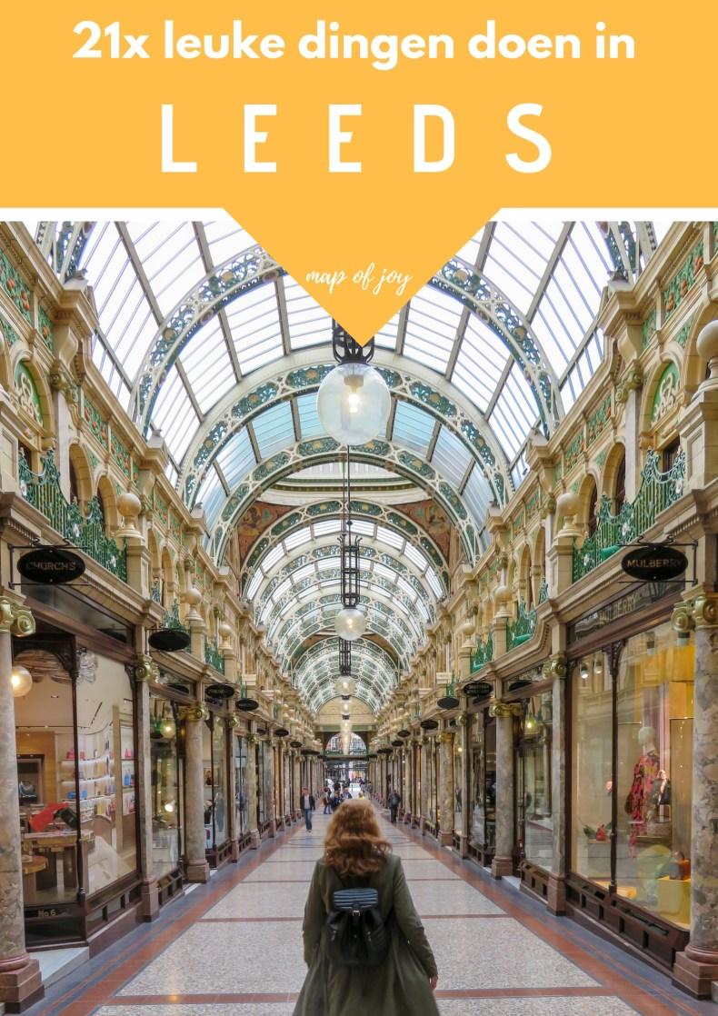 21x leuke dingen doen in Leeds - Map of Joy
