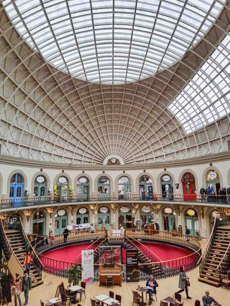 Corn Exchange, leuke dingen doen in Leeds - Map of Joy