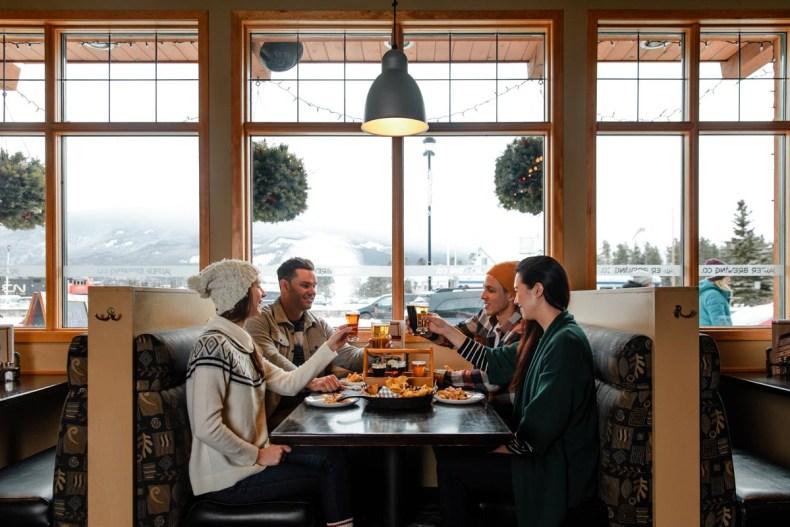 Jasper in de winter: het beste skidorp van Noord-Amerika
