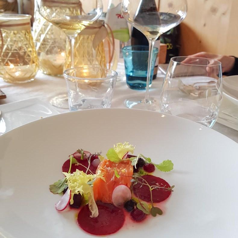 Eten bij Michelster restaurant Kuppelrain, Zuid-Tirol - Map of Joy