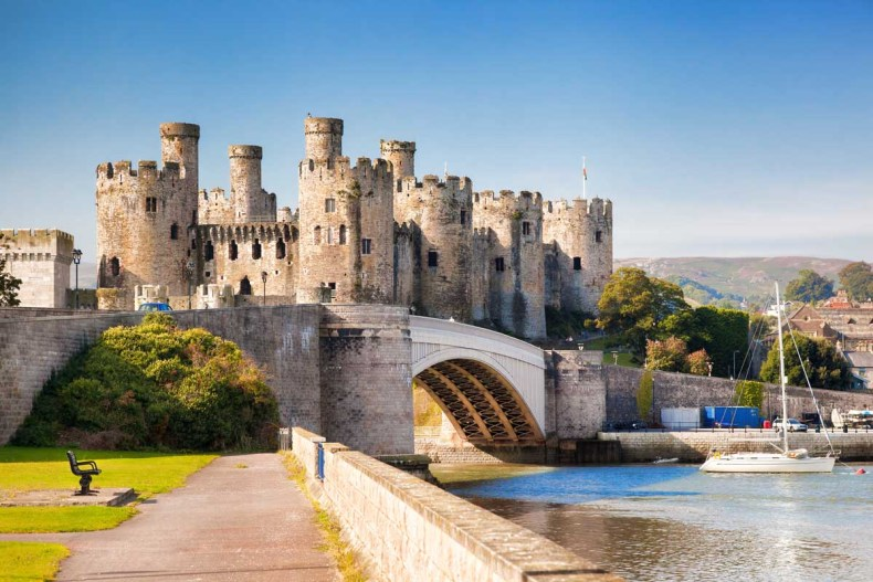 Roadtrip route The Cambrian Way, Conwy Castle