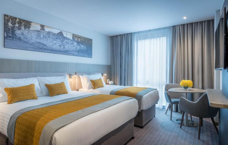10x leuke, goedkope hotels in Dublin - Map of Joy