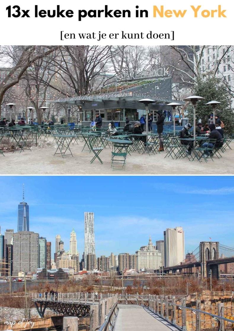 13x leuke parken in New York [en wat je er kunt doen] - Map of Joy