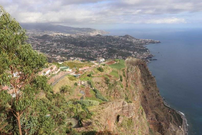 Cabo Girão uitzichtspunt, Madeira - Map of Joy
