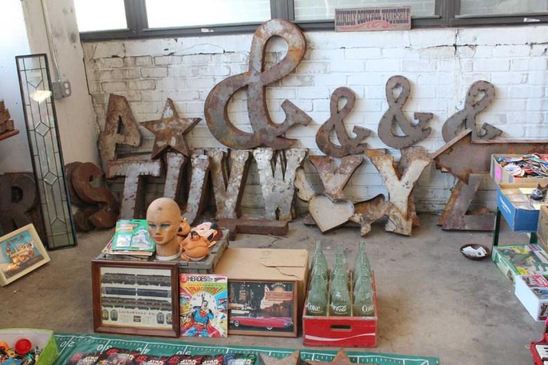 8x vintage shoppen in Brooklyn New York, Brooklyn Flea - Map of Joy