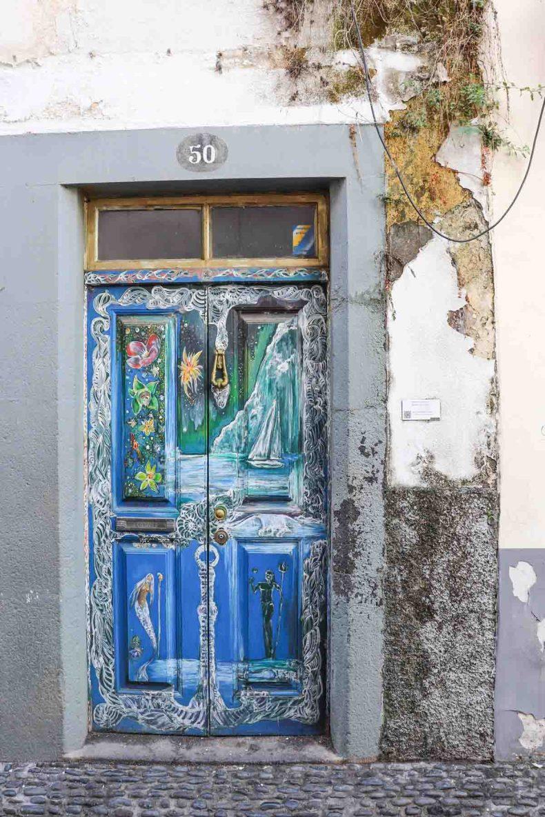 Rua de Santa Maria, Fuchal - Map of Joy