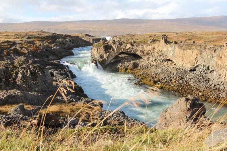 Godafoss, mooiste bezienswaardigheden rond Mývatn [roadtrip route]