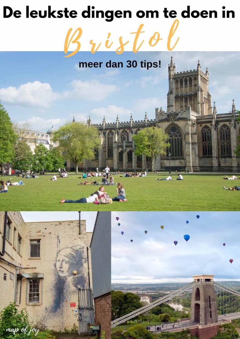 De leukste dingen om te doen in Bristol - Map of Joy